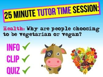 Veganism + Vegetarianism