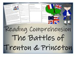 UKS2 History - The Battles of Trenton and Princeton Reading Comprehension