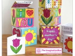 Mothers Day Keepsake Gift Box art and craft activity pack