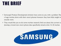 Business -  1.2 Market Research Project
