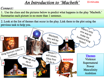 Introduction to Macbeth - Context of King James