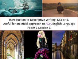 english language descriptive writing