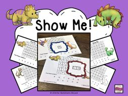 Number Recognition to 5, 10, 15, 20, 50 & 100: Number Search Activity