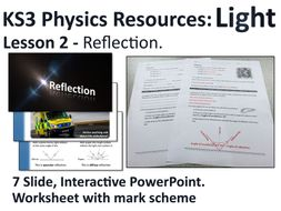 KS3 Physics Lesson Resources - Light - Reflection (Lesson 2) by ...