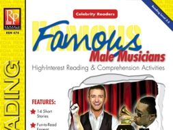 Celebrity Readers: Male Musicians