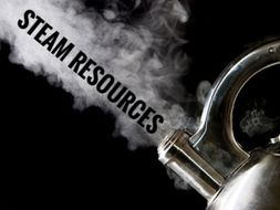 STEAM. Art Photographic images for Inspiration.