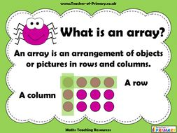 Making-Arrays---Year-1.ppt