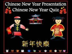 Chinese New Year Presentation and Quiz