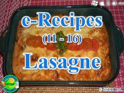42. Lasagne (e-Recipe)