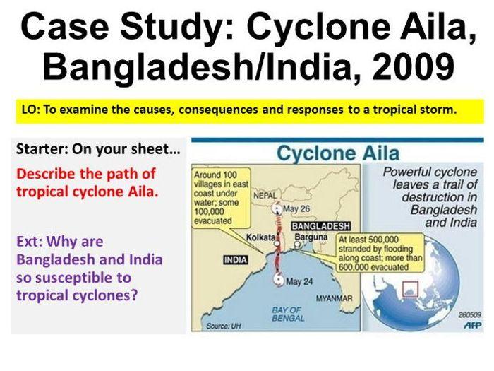 cyclone aila case study geography