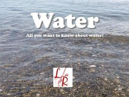 Water: An Easy Reader