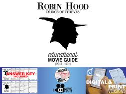 Robin Hood: Prince of Thieves Movie Guide | Questions | Worksheet (PG13 - 1991)