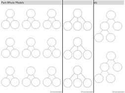 white rose part whole model blank template 3 sheets inc extended
