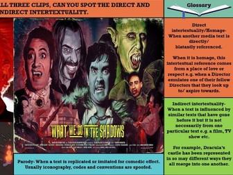 EDUQAS AS MEDIA, YEAR 12- ADVERTISING & MARKETING, 'KISS OF THE VAMPIRE': MEDIA LANGUAGE (SEC A)