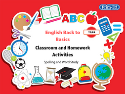 ENGLISH BACK TO BASICS: YR3/P4 SPELLING AND WORD STUDY UNIT