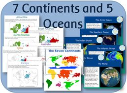 Ks1 geography locational knowledge the seven continents and five ks1 geography locational knowledge the seven continents and five oceans resource pack gumiabroncs Choice Image