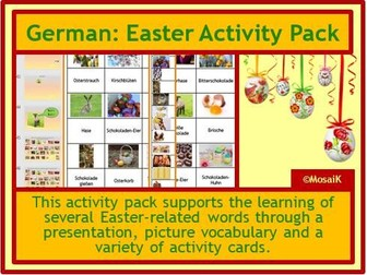 German Easter Activities Ostern