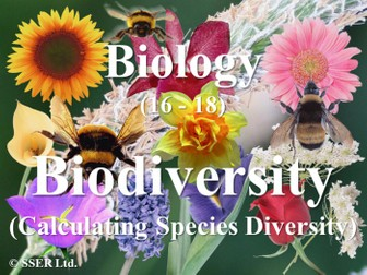 4.2.1 Biodiversity - Species Diversity Index OCR (A)