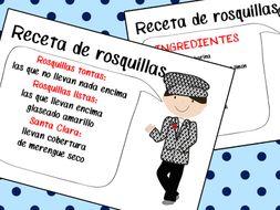 Rosquillas de San Isidro, tipos de rosquillas y receta