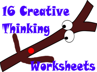 FREE The Stick Man Story Workbook - 16 Thinking Hat Worksheets For Fun Creative Reading In Class.
