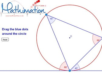 Circle Theorems Visualisations