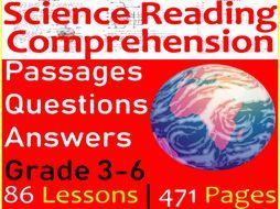 Science Reading   Bundle   Grade 3-6