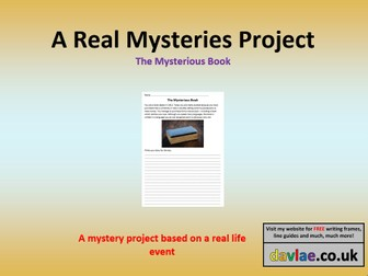 The Mysterious Book Project