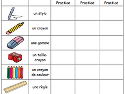 french classroom vocabulary revision worksheet by misssanglier teaching resources. Black Bedroom Furniture Sets. Home Design Ideas
