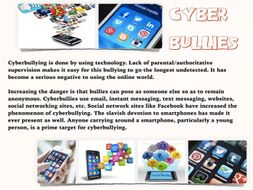 Bullying ~ Cyber & Real World ~ Laws + Quiz + Flash Cards ~ 64 Slides