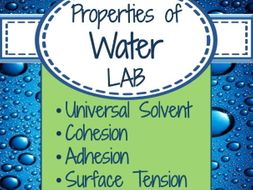 Lab Unique Properties Of Water