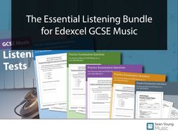 The Essential Listening Bundle for Edexcel GCSE Music