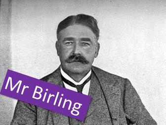An Inspector Calls - Mr Birling
