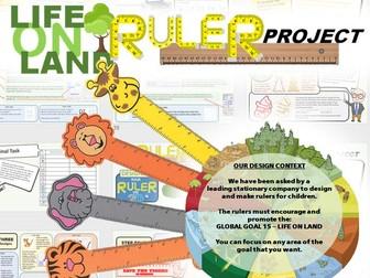 Global Goals -CAD Ruler Project - Life On Land
