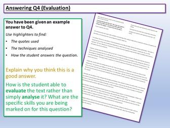 AQA English Language Paper 1 Q4 Model Answer