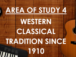 AQA GCSE Music Workbooks: Area of Study 4