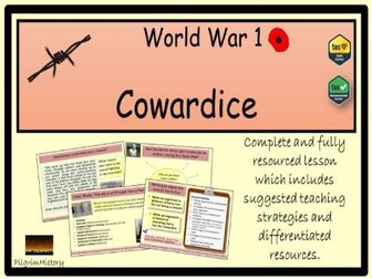 Cowardice and shellshock in World War 1