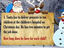 Christmas Maths Quiz