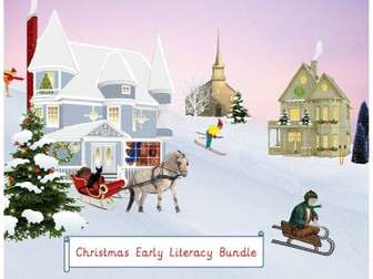 Christmas Early Literacy Bundle
