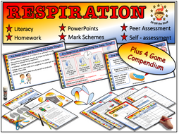 Respiration - Fully Resourced Lesson Plus 4 Game Compendium for KS3