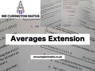 Averages Extension