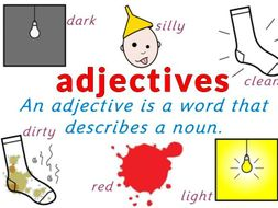 Adjective Worksheet Pack