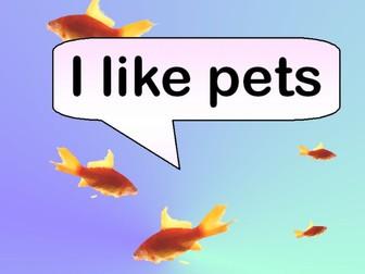 I Like Pets (Rhyming ebook)