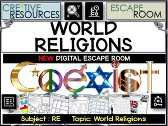World Religions Escape Room
