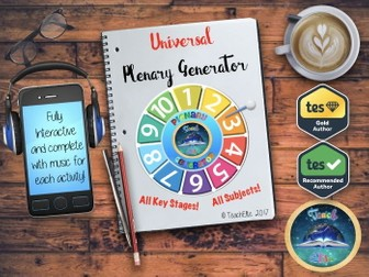 Back to School  : Plenary Generator