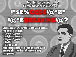 Computational Thinking: Code Breaking