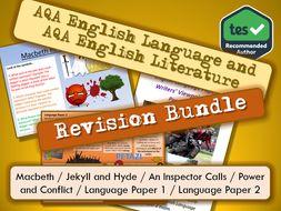 AQA English Language and Literature Revision
