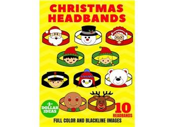 10 CHRISTMAS HEADBANDS   CHRISTMAS CRAFTS FOR KIDS