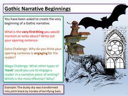 Gothic Opening Sentences