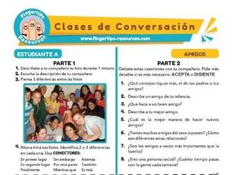 Amigos - Spanish Speaking Activity
