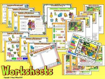 Goldilocks and The Three Bears KS1– Worksheets